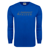 Royal Long Sleeve T Shirt-Dassault Falcon