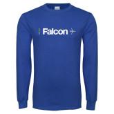 Royal Long Sleeve T Shirt-Falcon