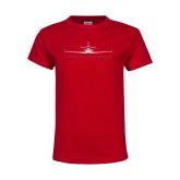 Youth Red T Shirt-Craft w/ Tagline
