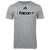 Adidas Sport Grey Logo T Shirt-Falcon