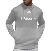 Adidas Grey Team Issue Hoodie-Falcon
