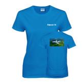 Ladies Sapphire T Shirt-Falcon 7X