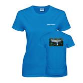 Ladies Sapphire T Shirt-Falcon 2000LXS