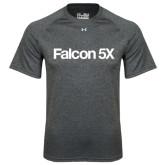 Under Armour Carbon Heather Tech Tee-Falcon 5X