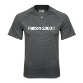 Under Armour Carbon Heather Tech Tee-Falcon 2000S