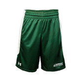 Under Armour Dark Green Fearless Short-Dassault Falcon