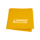 Gold Sweatshirt Blanket-Dassault Falcon