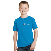 Youth Sapphire T Shirt-Falcon 2000LXS Craft