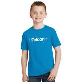 Youth Sapphire T Shirt-Falcon