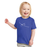 Toddler Royal T Shirt-Sketch Jet