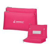 Tropical Pink Vanity Bag w/Mirror-Dassault Aviation