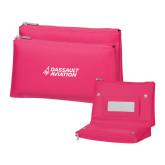 Tropical Pink Vanity Bag w/Mirror-Dassault Aviation