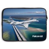 15 inch Neoprene Laptop Sleeve-Falcon 6X In Air
