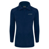 Columbia Ladies Half Zip Navy Fleece Jacket-Dassault Falcon