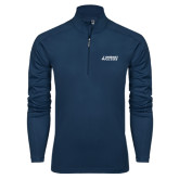 Syntrel Navy Interlock 1/4 Zip-Dassault Falcon