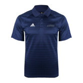 Adidas Climalite Navy Jaquard Select Polo-Dassault Falcon