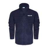 Columbia Full Zip Navy Fleece Jacket-Falcon 5X