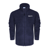 Columbia Full Zip Navy Fleece Jacket-Falcon 7X