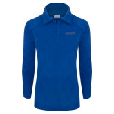 Columbia Ladies Half Zip Royal Fleece Jacket-Dassault Falcon