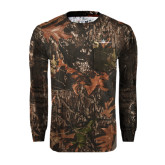 Realtree Camo Long Sleeve T Shirt w/Pocket-Falcon 5X Craft