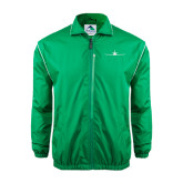 Colorblock Kelly/White Wind Jacket-Falcon 7X Craft