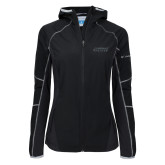 Columbia Ladies Sweet As Black Hooded Jacket-Dassault Falcon