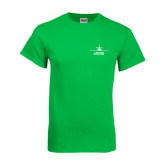 Kelly Green T Shirt-Trijet Craft Stacked - Falcon 900, Falcon 900EX, Falcon 50EX