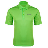 Lime Green Silk Touch Performance Polo-Dassault Falcon