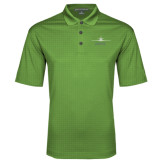 Kelly Green Performance Fine Jacquard Polo-Twinjet Craft Stacked - Falcon 2000, Falcon 2000EX