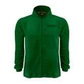 Fleece Full Zip Dark Green Jacket-Dassault Falcon