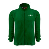 Fleece Full Zip Dark Green Jacket-Falcon 7X Craft