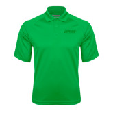 Kelly Green Textured Saddle Shoulder Polo-Dassault Falcon