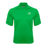 Kelly Green Textured Saddle Shoulder Polo-Twinjet Craft Stacked - Falcon 2000