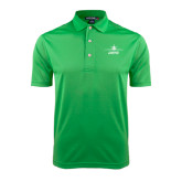 Kelly Green Dry Mesh Polo-Trijet Craft Stacked - Falcon 900, Falcon 900EX, Falcon 50EX