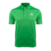 Kelly Green Dry Mesh Polo-Twinjet Craft Stacked - Falcon 2000, Falcon 2000EX