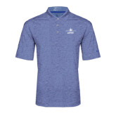 Nike Golf Dri Fit Royal Heather Polo-Trijet Craft Stacked - Falcon 900, Falcon 900EX, Falcon 50EX