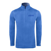 Nike Sphere Dry 1/4 Zip Light Blue Cover Up-Dassault Falcon