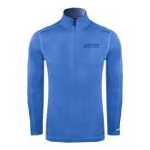 Nike Sphere Dry 1/4 Zip Light Blue Pullover-Dassault Falcon