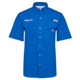 Columbia Bonehead Royal Short Sleeve Shirt-Falcon 7X