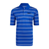 Adidas Climalite Royal Textured Stripe Polo-Falcon 7X
