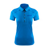Ladies Ogio Sapphire Blue Pleated Back Polo-Dassault Falcon