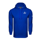 Under Armour Royal Performance Sweats Team Hoodie-Trijet Craft Stacked - Falcon 900, Falcon 900EX, Falcon 50EX