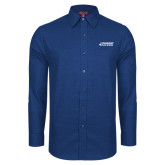 Red House Royal Diamond Dobby Long Sleeve Shirt-Dassault Falcon