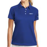 Ladies Nike Dri Fit Royal Pebble Texture Sport Shirt-Falcon