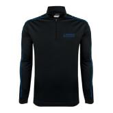 Nike Golf Dri Fit 1/2 Zip Black/Royal Pullover-Dassault Falcon