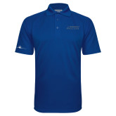 Royal Textured Saddle Shoulder Polo-Dassault Falcon