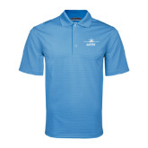 Light Blue Mini Stripe Polo-Twinjet Craft Stacked - Falcon 2000
