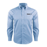 Red House Light Blue Plaid Long Sleeve Shirt-Falcon 7X