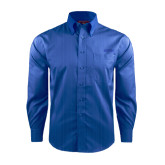 Red House French Blue Dobby Long Sleeve Shirt-Dassault Falcon