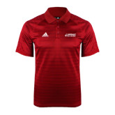 Adidas Climalite Red Jaquard Select Polo-Dassault Falcon